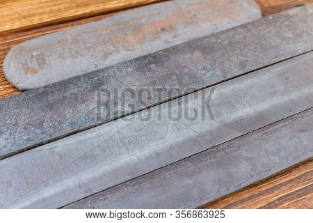 Blade Steel Plates Handmade Knife Making Materials Supply Tempered Forged Hardened Heat Treated Quen