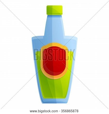 Mexican Drink Tequila Icon. Cartoon Of Mexican Drink Tequila Vector Icon For Web Design Isolated On