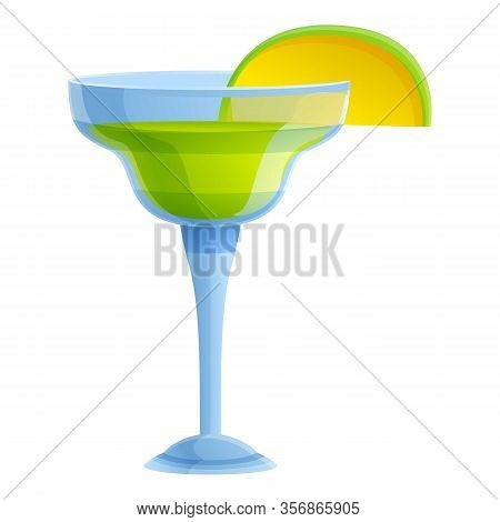Tequila Cocktail Icon. Cartoon Of Tequila Cocktail Vector Icon For Web Design Isolated On White Back