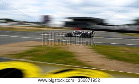 Le Mans / France - June 15-16 2019: 24 Hours Of Le Mans, Ford Chip Ganassi Team Uk Racing Team, Ford