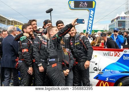 Le Mans / France - June 15-16 2019: 24 Hours Of Le Mans, Ligier Racing Team On The Track Of Race 24