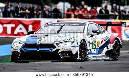 Le Mans / France - June 15-16 2019: 24 Hours Of Le Mans, Bmw Team Mtek, Bmw M8 Gte Gtepro, Race Of T