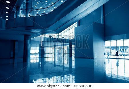Subway station hall