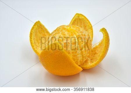 Beautiful, Juicy, Delicious Citrus Fruit Mandarin. Beautiful, Juicy, Delicious Citrus Fruit Mandarin