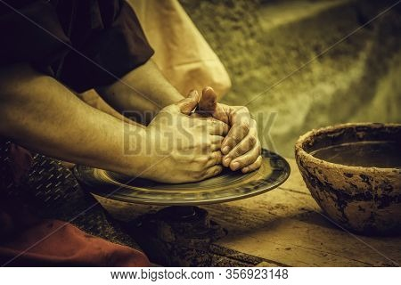 Traditional Clay Potter