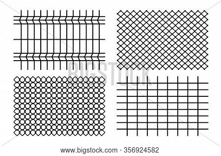 Fence. Grid Metal Chain-link. Braid Wire Fence. Background Texture The Cage, Metal Chain Link, Fence