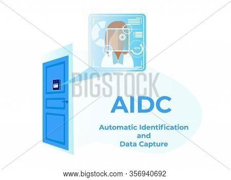 Automatic Identification Data Capture, Aidc Horizontal Banner, Automatically Identifying Objects, En