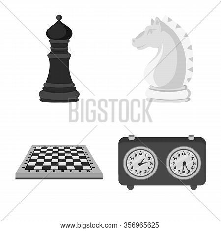Vector Illustration Of Tactical And Play Symbol. Set Of Tactical And Thin Stock Vector Illustration.