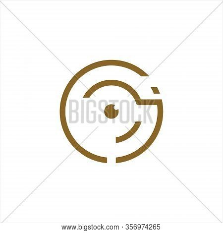 Photography Logo Design Vector Template,isolated On A White Background