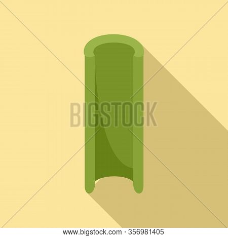 Celery Icon. Flat Illustration Of Celery Vector Icon For Web Design