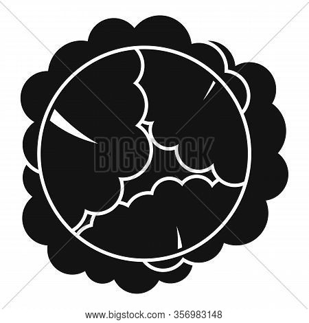 Food Cabbage Icon. Simple Illustration Of Food Cabbage Vector Icon For Web Design Isolated On White