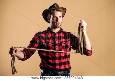 Ranch Occupations. Lasso Is Used In Rodeos Part Competitive Events. Lasso Can Be Tied Or Wrapped. We
