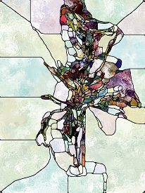 Evolving Stained Glass