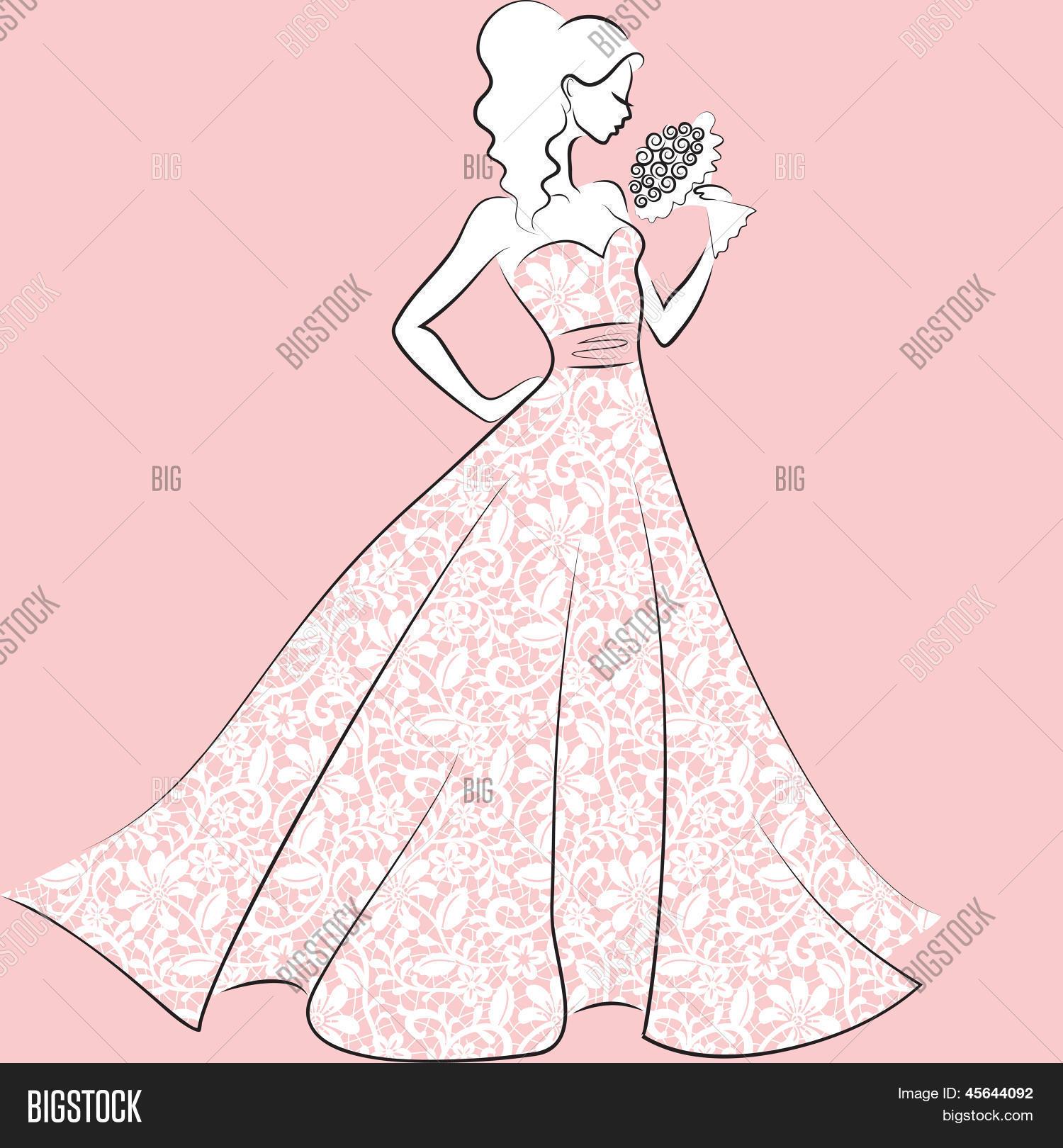 Magnífico Vestidos De Novia Del Victorian Festooning - Colección de ...