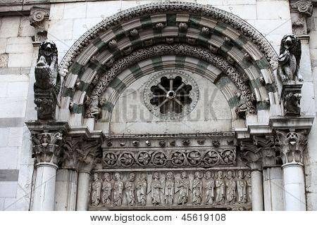 Lucca - The Church of Santa Reparata