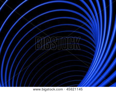 Abstract Tunnel With Asymmetry