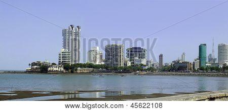 Panoramic urban landscape