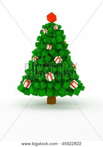 Cubic Christmas Tree