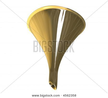Funnel In Gold
