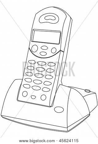 Cordless Phone vector