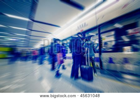 Passengers Motion Blur