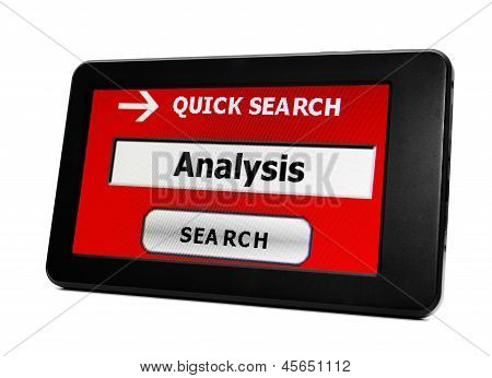 Search For Analysis
