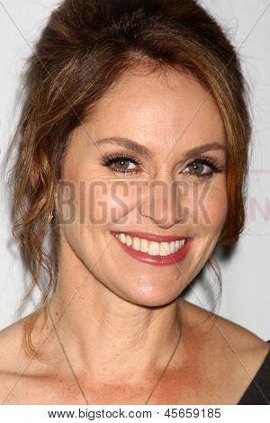 LOS ANGELES - MAY 8:  Amy Brenneman arrives at Women of Distinction Luncheon at the Beverly Hills Hotel on May 8, 2013 in Beverly Hills, CA