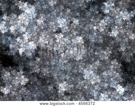 Abstract background. Gray - white palette. Raster fractal graphics. poster