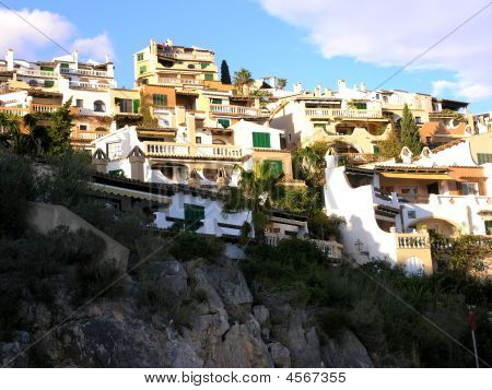 Houses On A Mountain