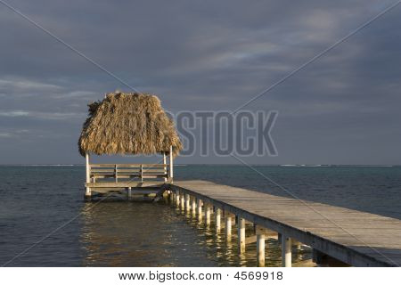 Pier And Hut