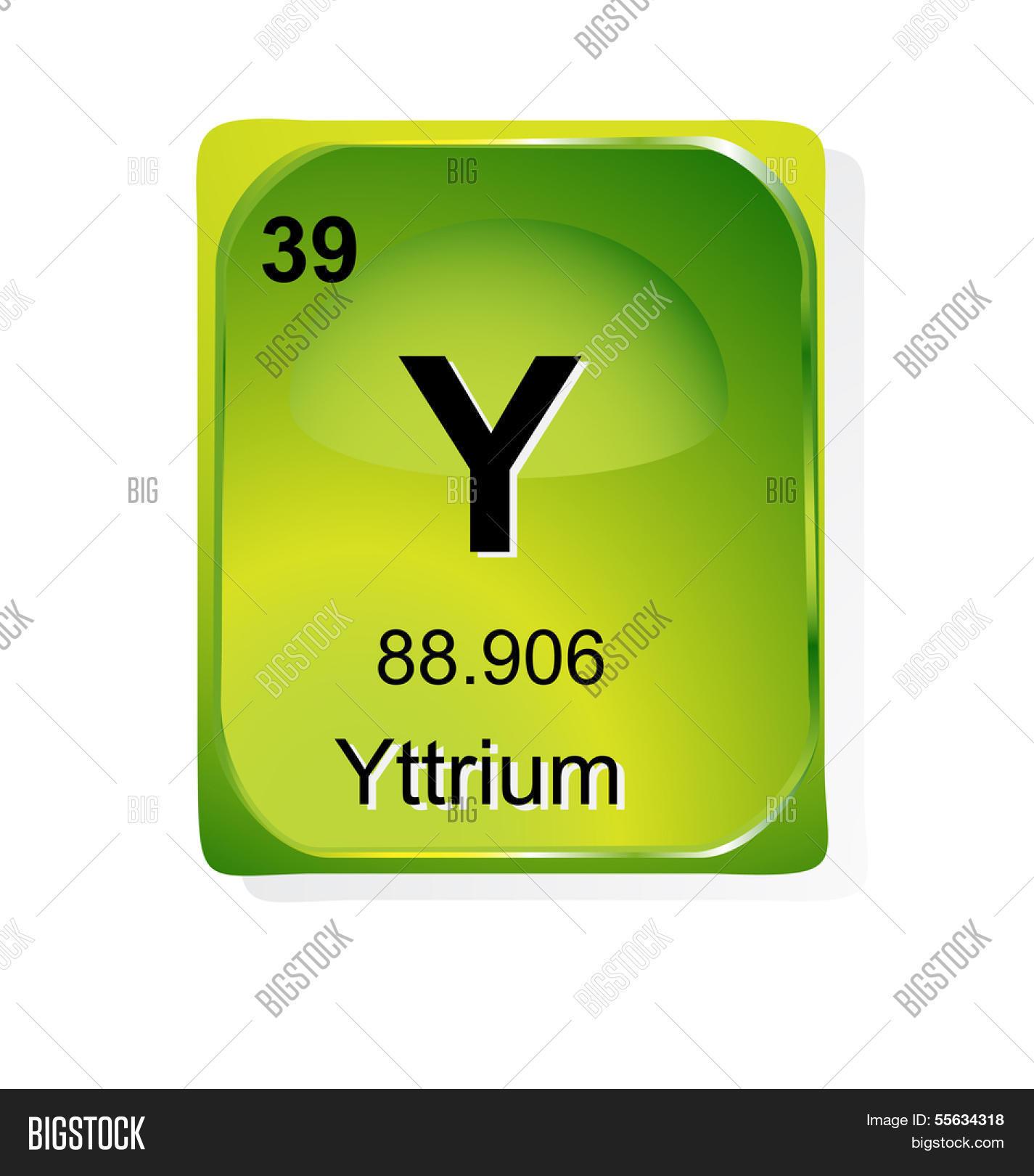 Yttrium Chemical Vector Photo Free Trial Bigstock