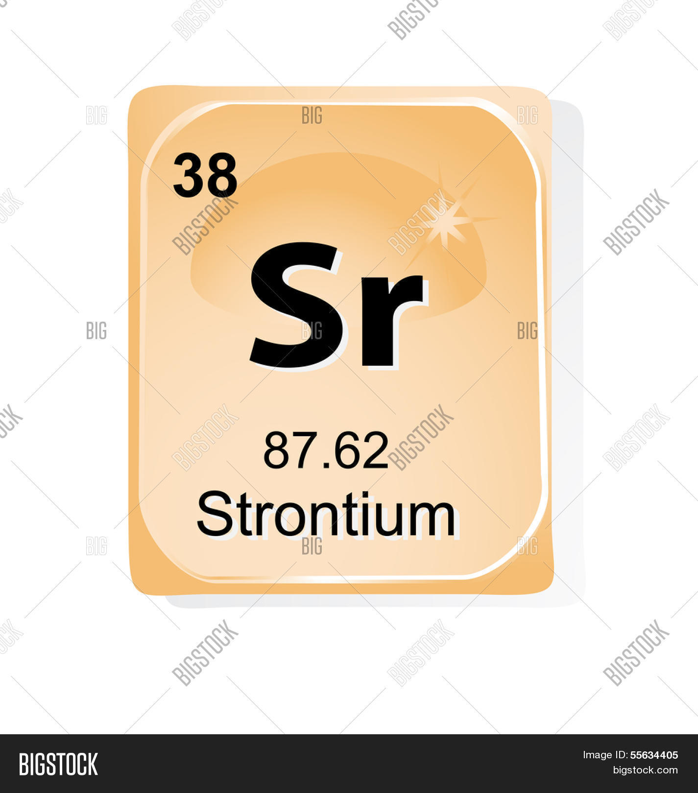 Strontium Chemical Vector Photo Free Trial Bigstock