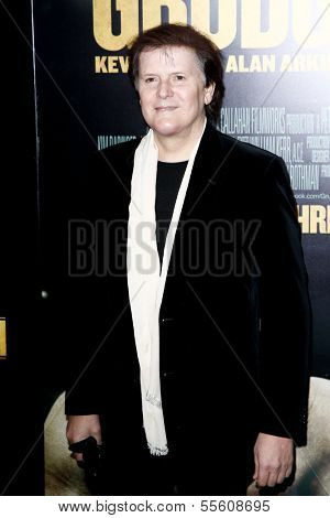 "NEW YORK-DEC 16: Composer Trevor Rabin attends the world premiere of ""Grudge Match"" at the Ziegfeld Theatre on December 16, 2013 in New York City."