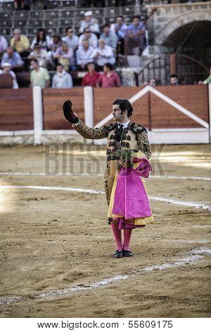 Spainish bullfighter Morante de la Puebla