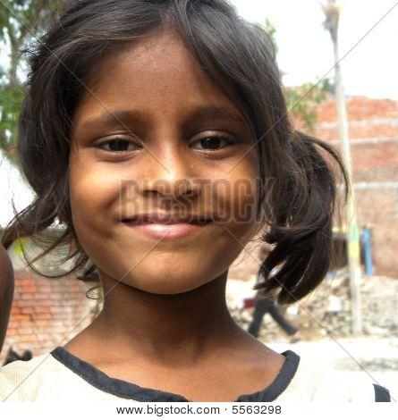 poor indian girl
