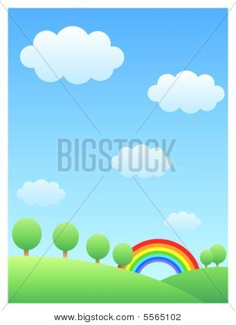 Rainbow & Hill