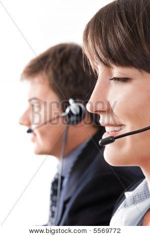 Mitarbeiter des Kundendienstes