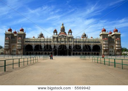 schöne Mysore Palast
