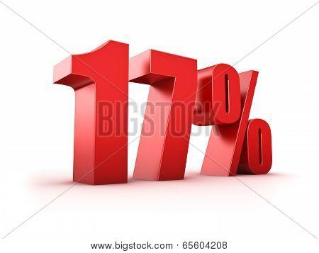 17 Percent