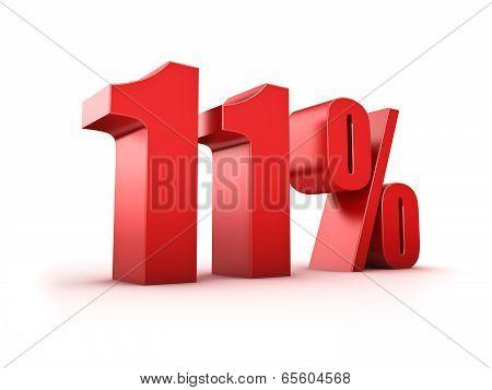 11 Percent
