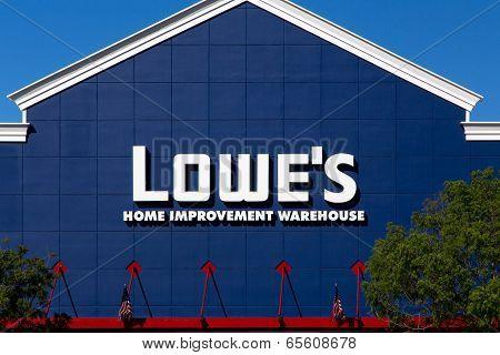 Lowe's Home Improvment Warehouse Exterior.