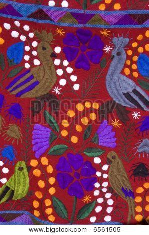 Mexican Bird Blanket