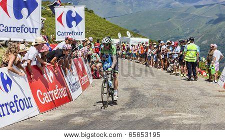 The Cyclist Bram Tankink