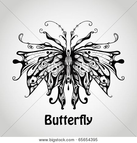 Vector Graphic Butterfly