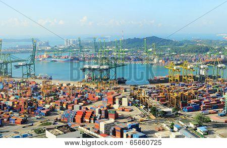 Singapore Cargo Port