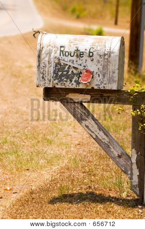 Old Rural Mailbox