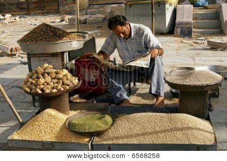 Marketplace In Jaipur, India.