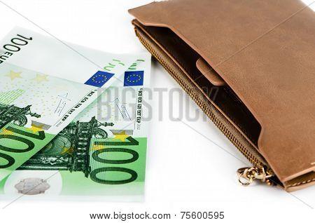 Euro And Purse