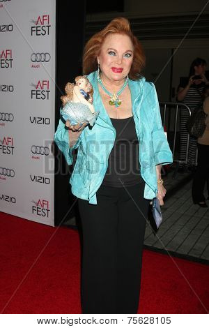LOS ANGELES - NOV 6:  Carol Connors at the AFI FEST 2014 Screening Of