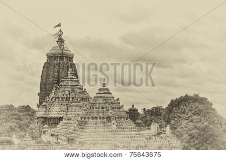 Jagannath Puri, Orissa, India.